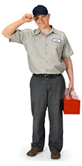 Image of locksmith service technician.